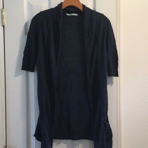 Maurices navy blue cardigan